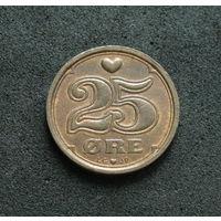 Дания 25 эре 1991