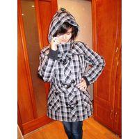 КРУТАЯ куртка с нарукавниками для КРУТОЙ Девушки р.50-52 ГЕРМАНИЯ . хотите быть роскошной и неотразимой - она ваша.