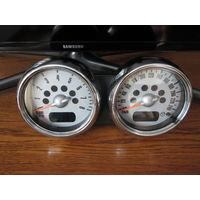 Тахометр часы к мини купер .можно для дизайна в любое авто