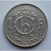 Люксембург 1 франк. 1964
