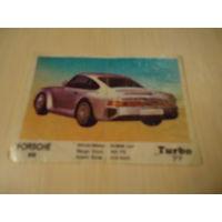 РАСПРОДАЖА ВСЕГО!!! Вкладыш Turbo из серии номеров 51 - 120. Номер 77