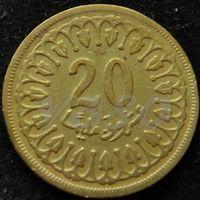 588:  20 миллимов 1960 Тунис
