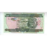 2 доллара Соломоновых островов