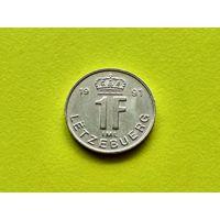 Люксембург. 1 франк 1991.