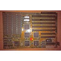 Материнская плата Copyright ROC 286 bios intel 1982 AMD N80L286-12/S Motherboard