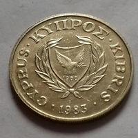 10 центов, Кипр 1983 г.