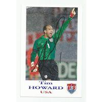 Tim Howard(США). Живой автограф на фотографии #2