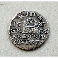 ТРОЯК 1585 Стефан Баторий R5