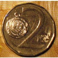 2 кроны 1998 Чехия