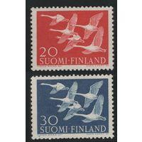 1956 Финляндия 465-466 Птицы 10,00евро