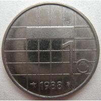 Нидерланды 1 гульден 1988 г. (g)