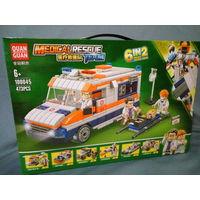 Конструктор аналог LEGO. Скорая помощь. Цена снижена.