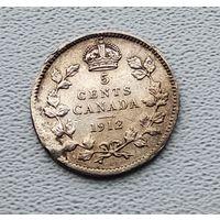 Канада 5 центов, 1912 7-6-61