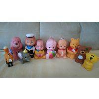 Игрушки резиновые для малышей
