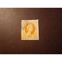 Родезия и Ньясаленд 1954 г.Королева Елизавета II.