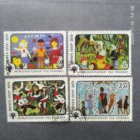 Марки СССР 1979 год. Международный год ребенка Полная серия