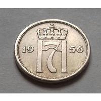 10 эре, Норвегия 1956 г.