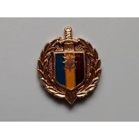Петличная эмблема. Полиция Молдовы. С потерями.