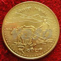 7912:  2 рупии 2006 Непал