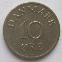 Дания 10 эре 1949