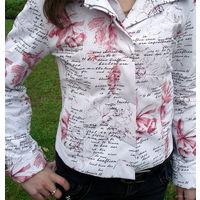 Стильная куртка из эко кожи
