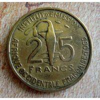 Того (Французская Западная Африка) 25 франков 1957 г.-1