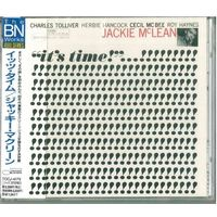 CD Jackie McLean - It's Time! (25 Jan 1995) Hard Bop