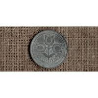 Нидерланды 10 центов 1943 /оккупация/цветок/(М*)
