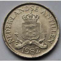 Нидерландские Антильские острова, 25 центов 1982 г.