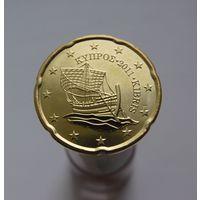 20 евроцентов 2011 Кипр UNC из ролла