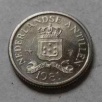 10 центов, Нидерландские Антильские острова, (Антиллы) 1981 г.
