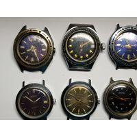 Лот часов Восток Амфибия Старт с рубля.