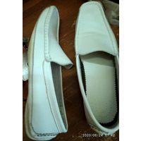 Туфли 43-44, натуральная кожа