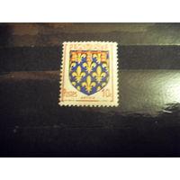 Старенькая Франция чистая MNH** герб (4-8)