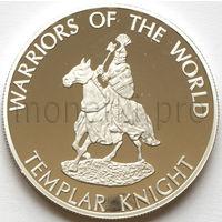 Конго 10 франков 2009 года. Тамплиер (Proof)