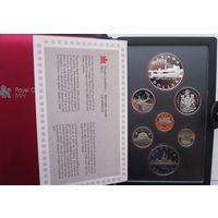 Канада, набор, 1984, серебро, пруф