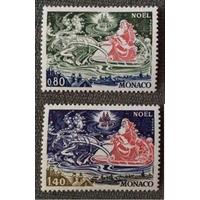 Монако. 1977 г. Рождество **(МО)