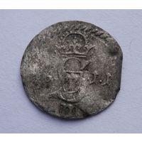 Тройной денарий 1611г R8 Без М.Ц.