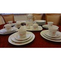 Большой чайно-столовый сервиз на 6 персон, Германия