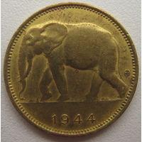 Бельгийское Конго 1 франк 1944 г.