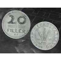 ВЕНГРИЯ 20 Филлеров 1972
