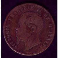 10 чентезимо 1867 год Италия