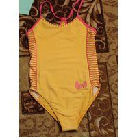 Слитный купальник на девочку 5-6 лет