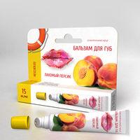 Регенерирующий БАЛЬЗАМ для губ Лакомый персик