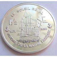 Французская Гвиана 1.5 евро 2004 г