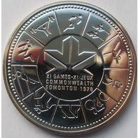Канада 1 доллар 1978 XI игры содружества в Эдмонтоне