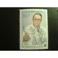Финляндия 1980 нобелевский лауреат по химии