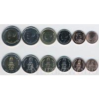 Тайланд набор 6 монет 2018 год UNC