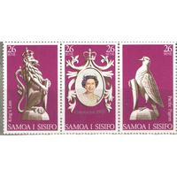 1978.САМОА И СИСИФО. ГОДОВЩИНА КОРОНАЦИИ. 30 лет коронации королевы Елизаветы II.**