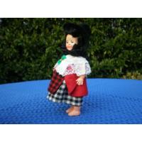 Кукла в национальном костюме. 18 см.